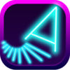 Glow Asteroids Shooter Icon