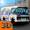 Russian Bus Driver 3D Icon