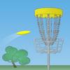 Disc Golf Game Icon