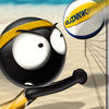 Stickman Volleyball Icon