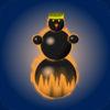 Snowman Race 3D Icon