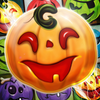 Halloween Swipe  Carved Pumpkin Match 3 Puzzle
