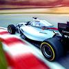 3D Formula Racing Motor Storm Icon
