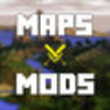 Maps and Mods for Minecraft Icon