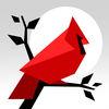 Cardinal Land Icon