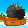 Pixel Pirate Ship Simulator 3D Full Icon