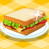 Pork BBQ Sandwich Icon