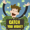 Catch you Money Icon