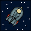 Pixel Space Adventure Icon