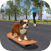 Bulldog on Skateboard 3DSimulation Game Review iOS