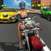 Girl Friend need for Bike Racing Icon