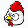 Chicken Merry Christmas