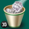 Paper Throw 3D Full Icon