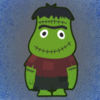 Trick or Treat Frankenstein Icon