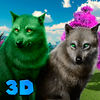 Wild Wolves Clan 3D Icon