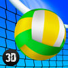 Girls Beach Volleyball Championship 3D Full Icon