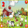 Funny farm for kids Icon