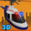 City Police Helicopter Flight Simulator Full Icon