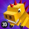 Cube Dino City Rampage 3D Full Icon
