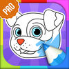 Dog Coloring Book PRO Icon