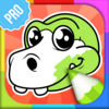 Dinosaur Colouring Games PRO Icon