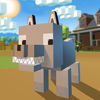 Blocky Wolf Simulator 3D Full Icon