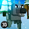 Pixel Wolf Survival Simulator Full Icon