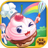 Happy Bakery Funny Game Icon
