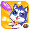 Happy Puppy Funny Game Icon