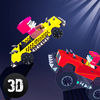 Pixel Car Fighting Arena 3D Full Icon