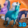 Magic Unicorn Survival Simulator 3D Full Icon