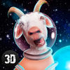 Crazy Space Goat Simulator 3D Full Icon