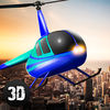 City Helicopter Flight Simulator 3D Full Icon