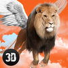 Wild Flying Lion Simulator 3D Full Icon
