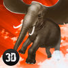 Wild Flying Elephant Simulator 3D Full Icon