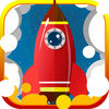 The Space Rocket Icon