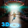 City UFO Flight Simulator 3D Full Icon