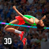 Athletics High Jump Contest Full Icon