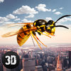 City Wasp Life Simulator 3D Full Icon