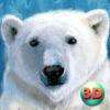 Wild White Polar Bear Simulator Full Icon