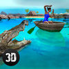 Wild Crocodile Attack Simulator 3D Full