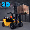 Heavy Cargo Forklift Simulator 3D Full Icon