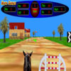 3D Horse Racing Icon