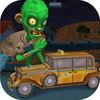 Spooky Zombie Town Car Race Pro Icon