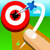 Finger Dart : Casual Dart Online Icon