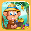 Jungle Fruits Match Icon