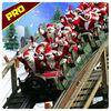 Christmas Santa Roller Coaster 3D Pro