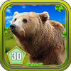 3D Bear Forest Simulation Premium Icon