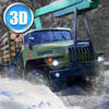 Winter Timber Truck Simulator Full Icon