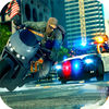 Bike Police Chase Shooting